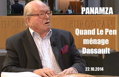 QUAND JEAN-MARIE LE PEN MÉNAGE l'UMP SERGE DASSAULT (Panamza)