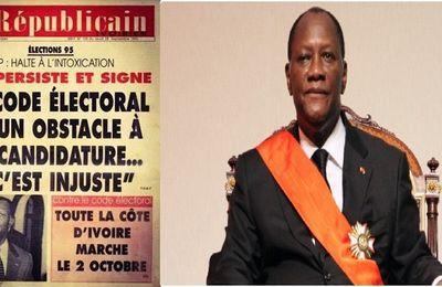 Côte-d'Ivoire danger en 2015: Quand Ouattara se taille un code électoral comme Bédié en 1995 (Connection Ivoirienne)