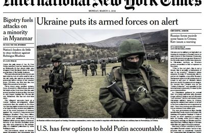The New York Times Sinks to a New Journalistic Low in its Reporting on Ukraine