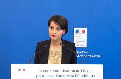 Charlie Hebdo : Vallaud-Belkacem ne veut pas entendre les questions des élèves (Regards.fr)