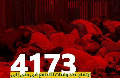 L'Arabie saoudite annonce par communiqué la mort de 4 173 pèlerins avant de le supprimer (RT)