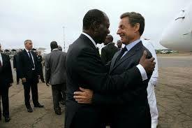 Sarkozy et Juppé en campagne en Afrique (Mondafrique)