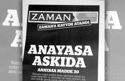 Sale temps pour la presse en Turquie !