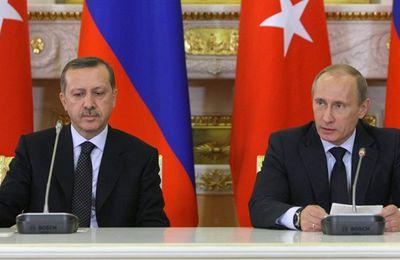 Poutine et Erdogan relancent le gazoduc Turkish Stream qui contourne l'Ukraine (Geopolis)