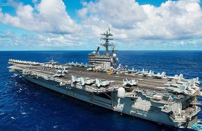 Un porte-avions nucléaire US met le cap sur la Corée du Sud (Pars Today)