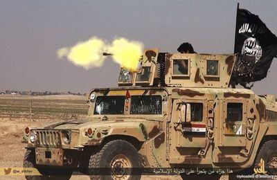 Selon Al-Arabiya, après les bombardements par les USA des troupes syriennes (qui ont tué 62 soldats), celles-ci sont à présent attaquées par l'Etat islamique
