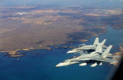 Plusieurs avions espions U.S ont survolé les bases militaires russes en Crimée et en Syrie (FNA)