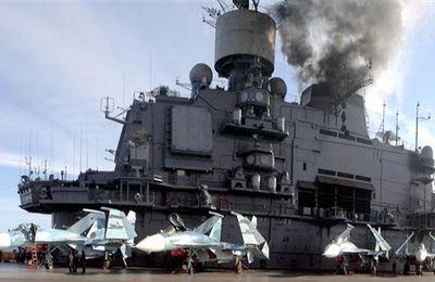 La plus grande flotte russe est en mer Méditerranée (Pars Today)