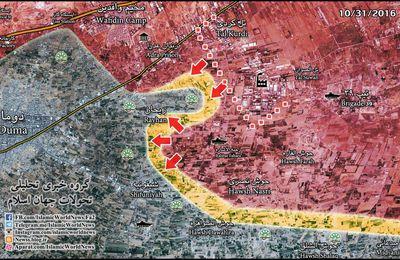 Les forces gouvernementales libèrent la zone industrielle entre Tell Kurdi et Tell Sawwan dans la Ghouta orientale (Southfront)