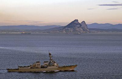 La Royal Navy ouvre le feu sur un vaisseau océanographique espagnol à Gibraltar (Russia Today)