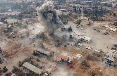 Le régime syrien a repris la moitié d'Alep-Est, les rebelles tentent de résister (AFP)