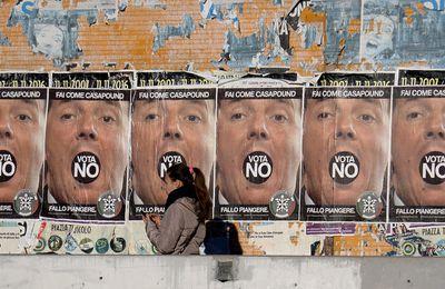 Après l'échec de son référendum, Renzi démissionne !