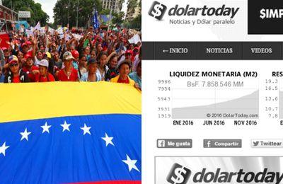 Venezuela : Qui se cache derrière la fraude de Dolar Today? (TeleSur)