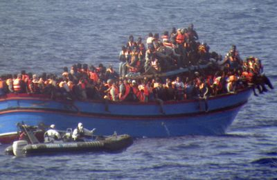 Libye : « plaque tournante du trafic humain » ( Regis Marzin)