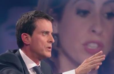 Valls interpellé sur le droit au port du voile et son incitation à l'Islamophobie par une invitée sur France 2 (Vidéo)