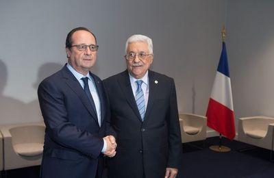 Plus de 150 parlementaires demandent à Hollande de reconnaître l'Etat de Palestine (20 minutes.fr)