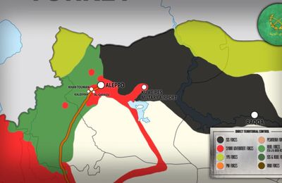 Les Kurdes voient Raqqa, libérée, intégrer leur entité fédérale (Reuters)