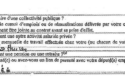 EXCLUSIF. Le document au coeur de l'audition de Penelope Fillon (Le Parisien)