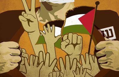 Solidarité avec les prisonniers palestiniens en grève de la faim (CAPJPO-EuroPalestine)