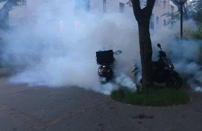 [Vidéo] Manifestation contre les élections à Ménilmontant (Sputniknews)