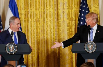Donald Trump essaie de s'en tenir au script – mais il est sur le point de causer de gros dégâts au Moyen-Orient (The Independent)