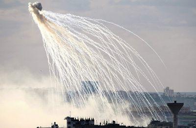La coalition étatsunienne bombarde Mossoul avec du phosphore blanc (Vidéo)