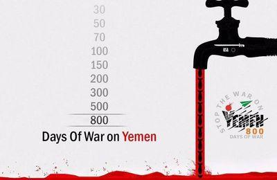 L'Arabie Saoudite bombarde le Yémen depuis 800 jours avec des armes israéliennes que même les Israéliens n'ont pas voulu tester à Gaza (AHT)