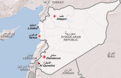 Les forces aériennes israéliennes bombardent l'artillerie et les chars d'assaut de l'armée syrienne dans la province de Quneitra (Southfront)