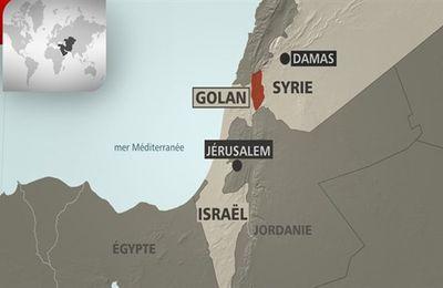 Israël fournit aide matérielle et financière aux groupes armés opérant sur le versant syrien du plateau du Golan (Afrique-Asie)