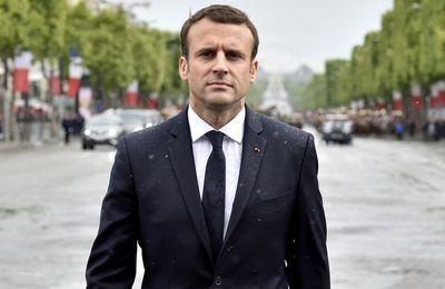 """Macron dénonce """"les fantasmes sur la finance mondiale"""" (Vidéo)"""