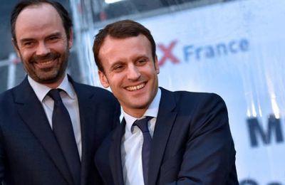 Sondage: confiance en hausse pour Macron et Philippe (AFP)