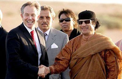 Kadhafi avait prévenu Tony Blair que sa chute ouvrirait la porte à des attaques islamistes en Europe (Les Crises)