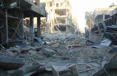 Selon un correspondant de la BBC, la destruction de Raqqa dépasse celle de Mossoul et d'Alep (Almasdar News)