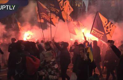 Le silence occidental alors que 20.000 néo-nazis manifestent en Ukraine (American Herald Tribune)