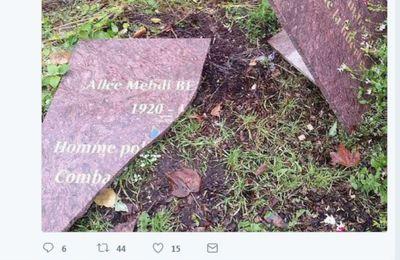 [Vidéos] France: une plaque à la mémoire de Mehdi Ben Barka vandalisée en banlieue parisienne (AFP)