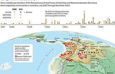 La CIA a aidé de manière clandestine la Colombie dans sa campagne contre les FARC (Kiergaard)