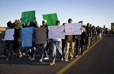 Israël. Marche des migrants africains sur Jerusalem