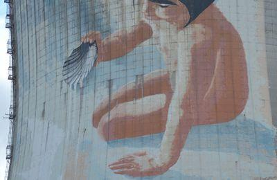 La Fresque De La Centrale De Cruas (Ardèche 07)