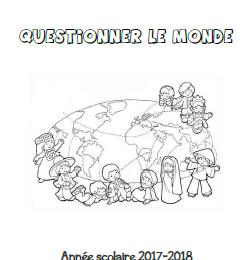 Page de garde : Questionner le monde : CP-CE1-CE2