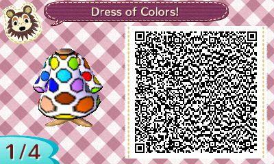 Dress of colors