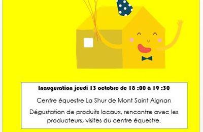Inauguraton de la Ruche qui oui de Mont Saint Aignan !