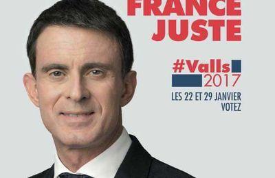 C'est décidé, demain je vote Manuel VALS