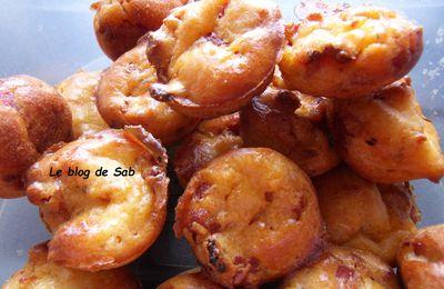 Bouchées chorizo parmesan