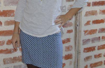 Une petite jupe facile à coudre