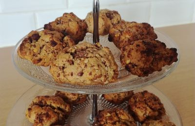 cookies au beurre de cacahuète et épeautre