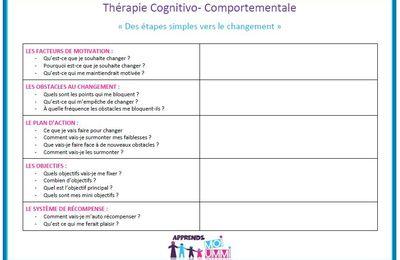 Thérapie cognitivo- comportementale : des étapes simples vers le changement