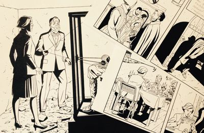 The final inking of the cover and new strips from The Will of William S.