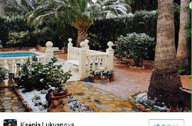 Jusqu'à  -15 degrés en Espagne,un fait rarissime! à Alicante c'est du jamais vu depuis 1983 (video media fr)