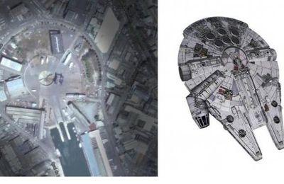 Au port de pêche de Lorient, le slipway de Keroman, construit en 1928, et utilisé par les Allemands pour hisser leurs sous-marins pendant la Seconde Guerre, aurait-il inspiré Georges Lucas, le réalisateur de Star Wars?