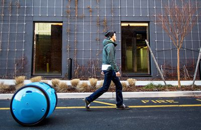 Piaggio Gita, le caddy-robot qui vous suit partout (video)